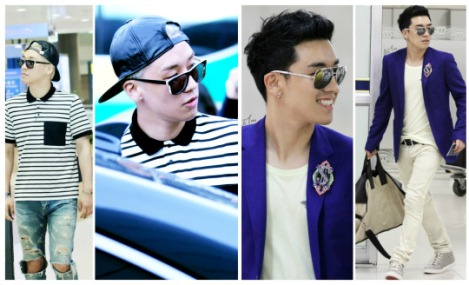 Kumpulan Foto Seungri BIG BANG dalam Airport (5)