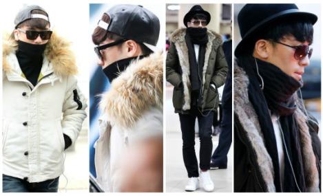Kumpulan Foto Seungri BIG BANG dalam Airport (7)