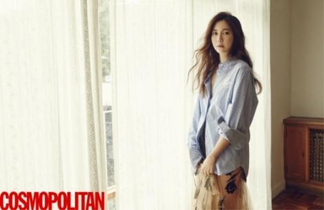Lee Ji-ah in for Cosmopolitan March 2016 (1)