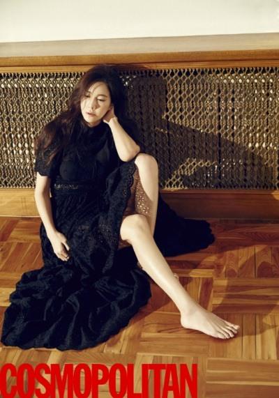 Lee Ji-ah in for Cosmopolitan March 2016 (3)