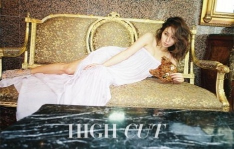 Lee Min-jung for HIGH CUT February (1)