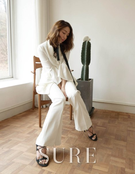 Lee Min Jung for March SURE Magazine (4)