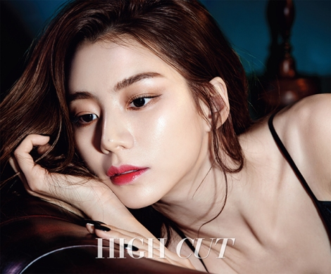 Park Soo Jin for HIGH CUT Magazine (1)