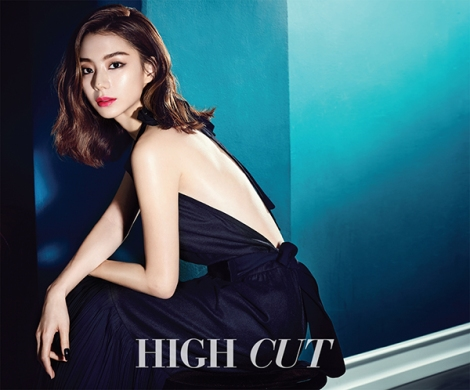 Park Soo Jin for HIGH CUT Magazine (2)