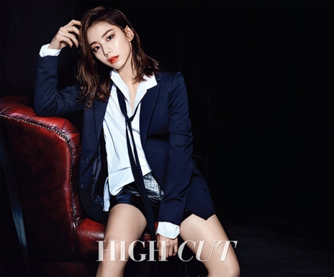 Park Soo Jin for HIGH CUT Magazine (3)