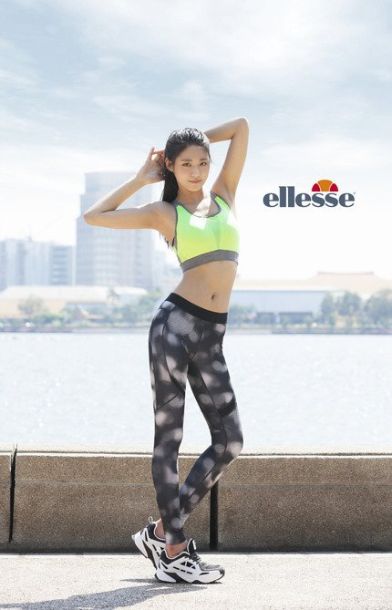 Seolhyun AOA for Ellesse 2016 (1)