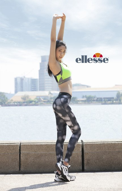 Seolhyun AOA for Ellesse 2016 (2)