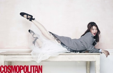 Shin Min-a for Cosmopolitan Maret 2016 (1)