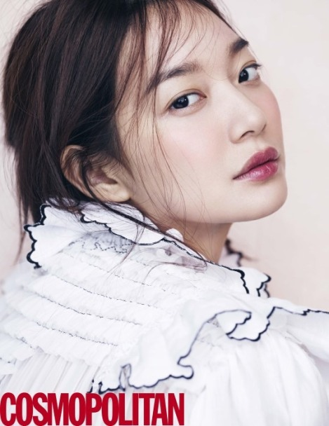 Shin Min-a for Cosmopolitan Maret 2016 (2)