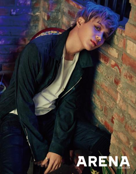 SHINee's Taemin for 'Arena Homme+' March 2016 (2)