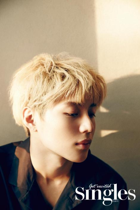 SHINee's Taemin showed off his earnest charms for SINGLE magazine (2)