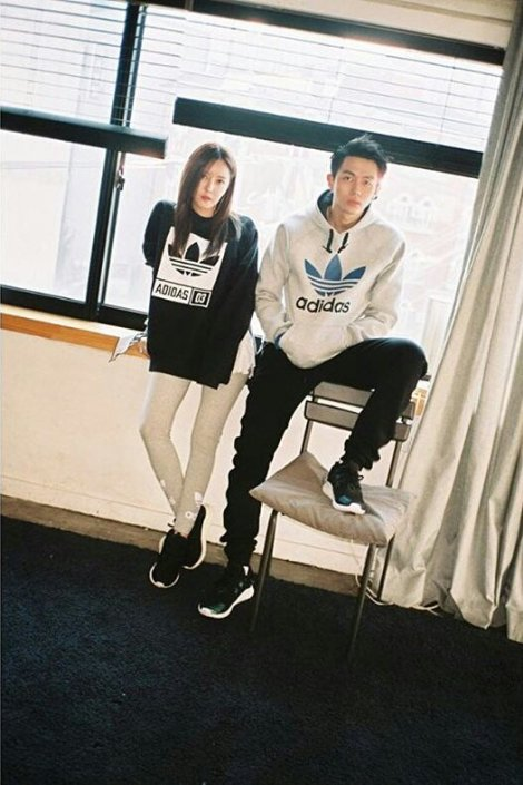 T-ARA's Hyomin & Seulong for Adidas Originals Tubular (3)