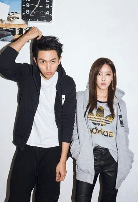 T-ARA's Hyomin & Seulong for Adidas Originals Tubular (6)
