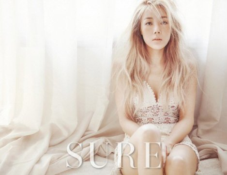 Wonder Girls Yubin showcases her sexiness for SURE Magazine (3)