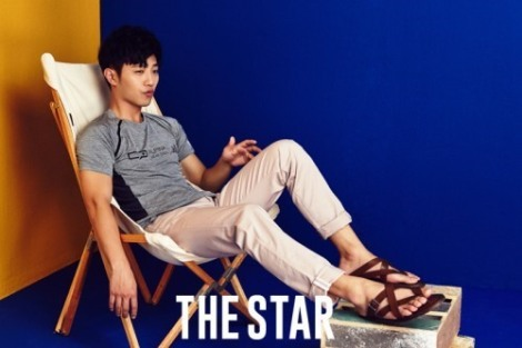 Actor Jin Goo pose for The Star magazine June issue  (1)