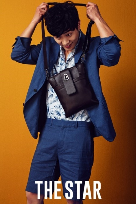 Actor Jin Goo pose for The Star magazine June issue  (2)