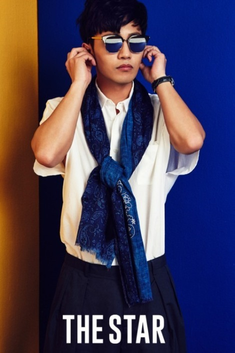 Actor Jin Goo pose for The Star magazine June issue  (4)