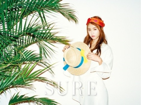 Actress Lee Yeon-hee pose  for magazine Sure June issue 2016 (1)