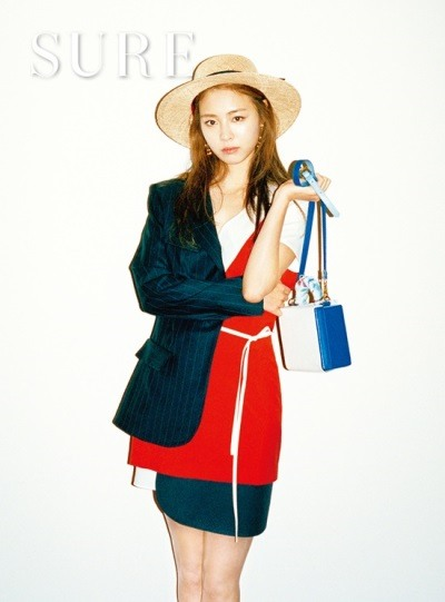 Actress Lee Yeon-hee pose  for magazine Sure June issue 2016 (2)