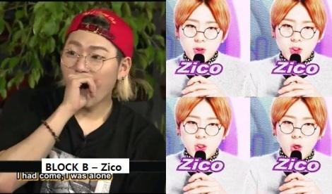 Zico dari kelompk BLOCK B –