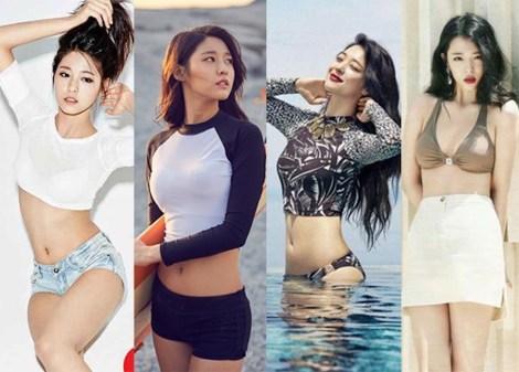 Choi Sulli & Seolhyun AOA. Siapa Lebih Cantik (1)
