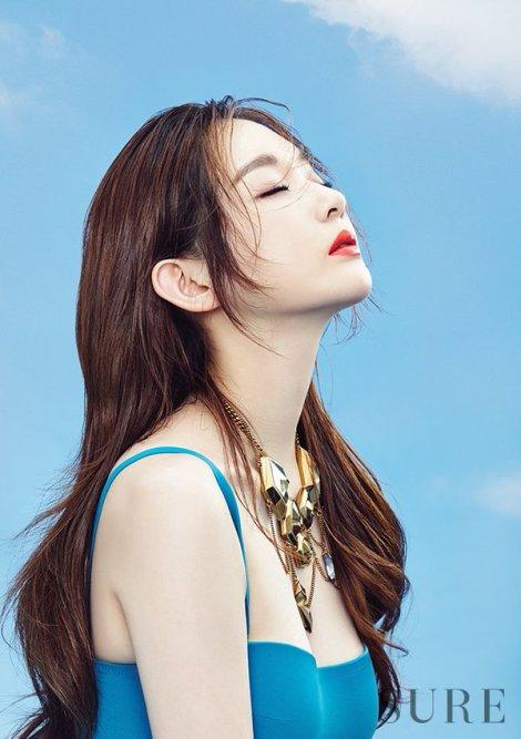 Davichi's Kang Minkyung for SURE Magazine June Issue 2016 (3)