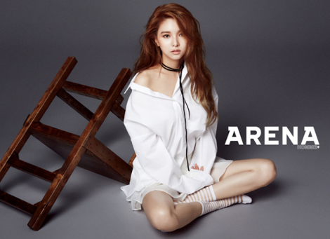 FIESTAR Poses For 'Arena Homme +' (1)