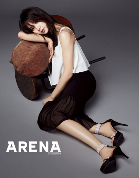 FIESTAR Poses For 'Arena Homme +' (4)