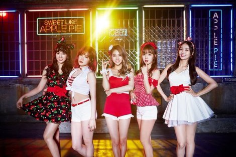 FIESTAR Rilis Video Musik Apple Pie
