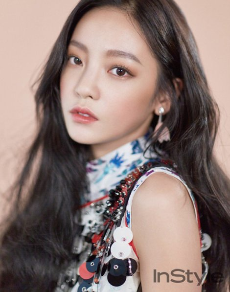 Goo Hara for InStyle Magazine June 2016 Issue