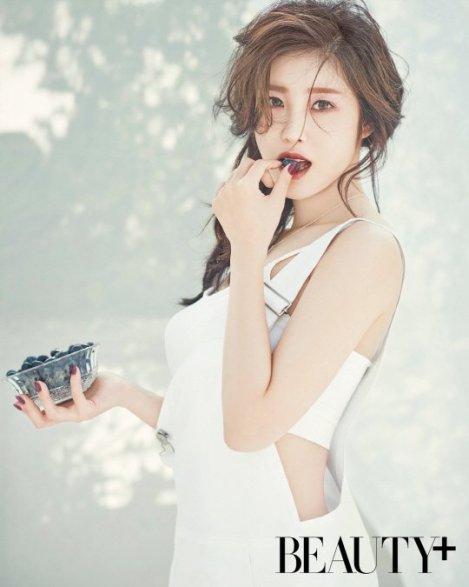 SECRET's Hyosung, Photoshoot for BEAUTY+ Magazine June Issue 2016