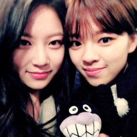 Jungyeon (Twice) and actress Gong Seung-yeon2