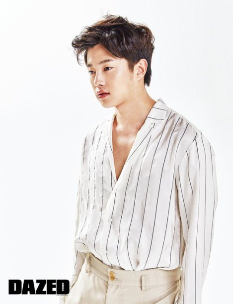 Kim Min-seok Photoshoot for Magazine Dazed and Confused June issue 2016 (2)