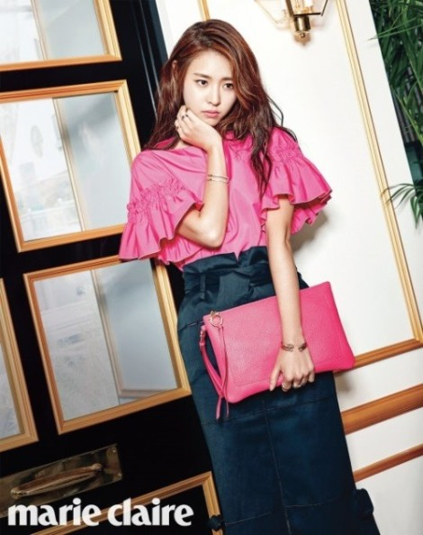 Lee Yeon-hee Photoshoot for fashion magazine Marie Claire's June 2016
