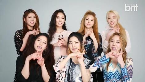 Pemotretan Kelompok Brave Girls untuk Majalah bnt International (3)
