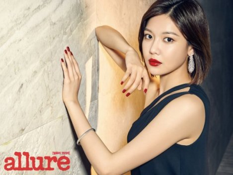 SNSD's Sooyoung for Allure Magazine June 2016 Issue