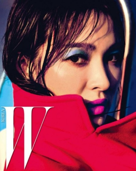 Song Hye-kyo pose for magazine W Korea June Issue 2016 (1)