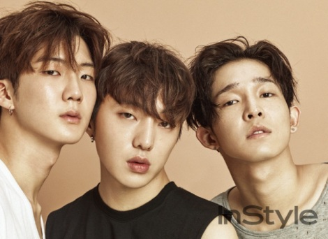 WINNER Pose for 'Instyle' Magazine June Issue (1)