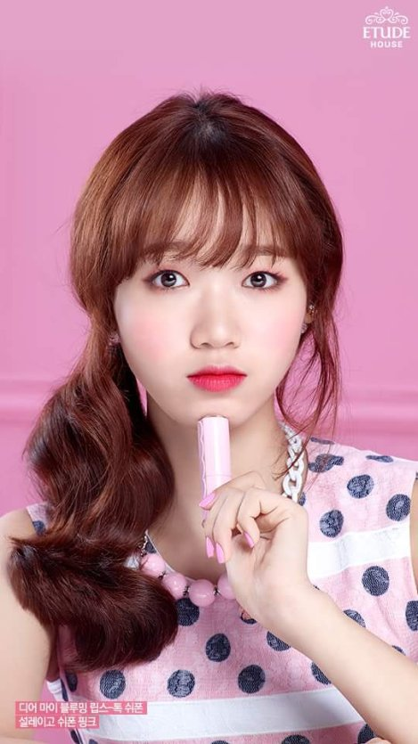 I.O.I Pose For Pictorial ETUDE House 2016 (1)