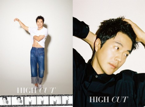 Kwon Sang Woo dalam Majalah 'High Cut' Edisi Maret/April 2017